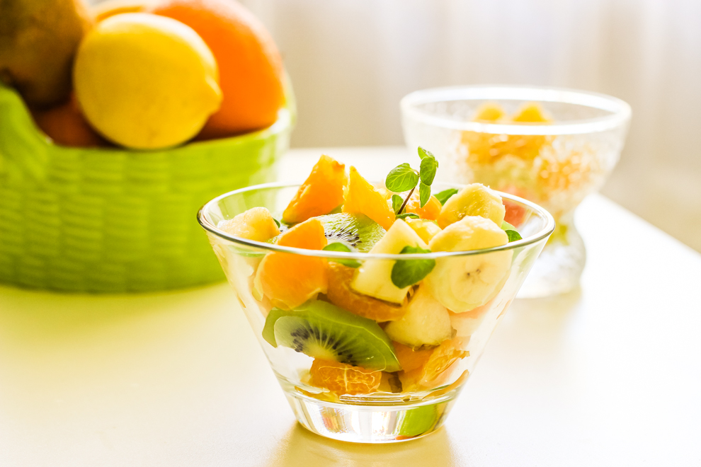 Рецепты ягодный салат