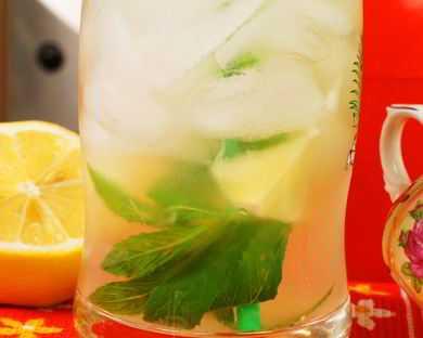 Рецепты напитков с лаймом и мятой