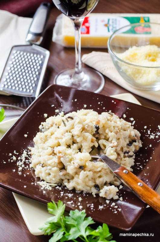 Ризотто с грибами — классические рецепты приготовления