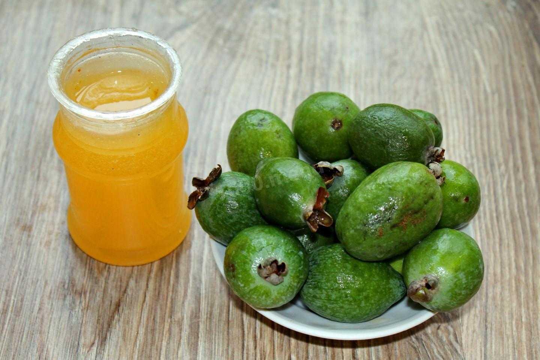 Рецепт фейхоа с медом