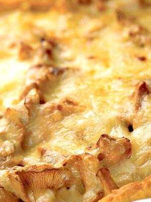 ≡ непростой рецепт пирога с лисичками и сыром пошагово с фото, рецепт домашней кухни