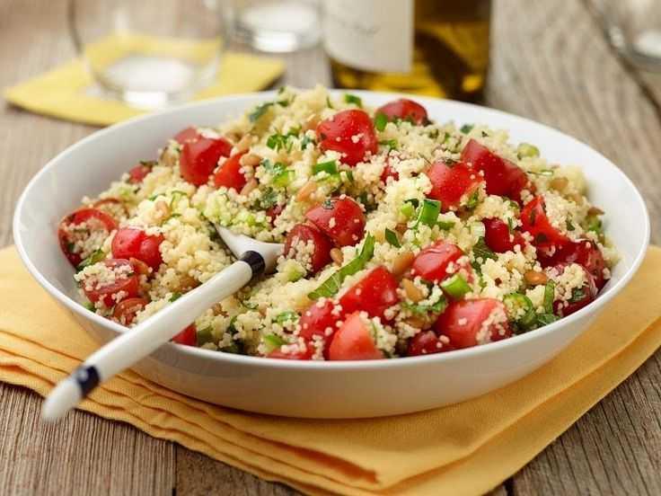 Салат с кускусом — пошаговый кулинарный рецепт приготовления салатов с фото