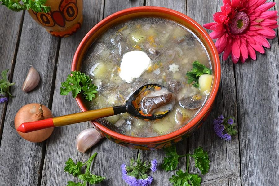 Как варить суп из подберезовиков