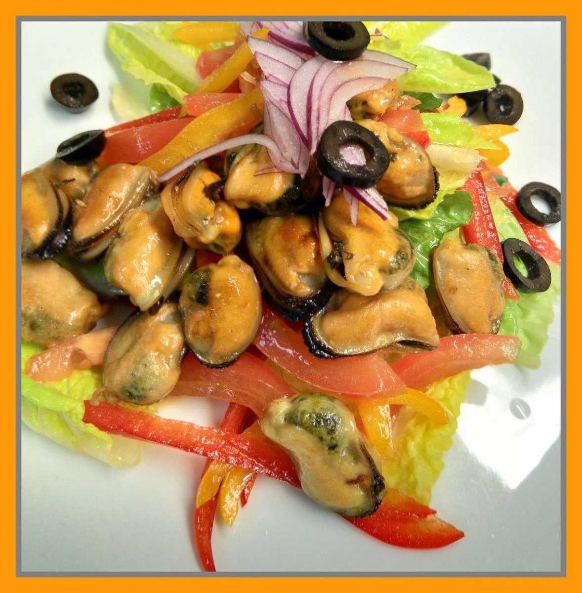 6 вкусных и быстрых салатов с мидиями