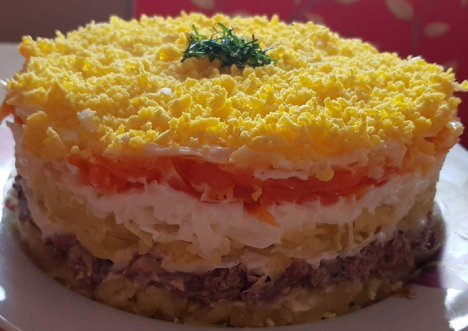 Салат мимоза классический - 9 домашних вкусных рецептов приготовления