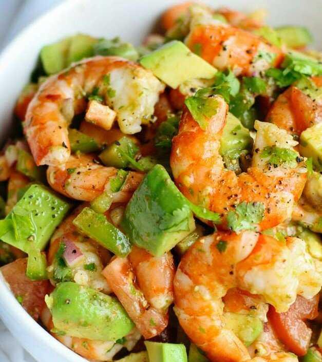 Готовим салат с авокадо и креветками: поиск по ингредиентам, советы, отзывы, пошаговые фото, подсчет калорий, удобная печать, изменение порций, похожие рецепты