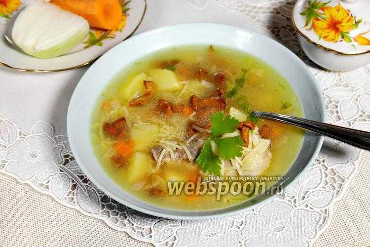 ✅ грибной суп из сушеных лисичек рецепт - питомник46.рф