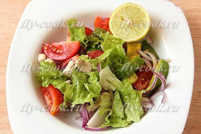Как приготовить салат с авокадо с курицей по пошаговому рецепту с фото