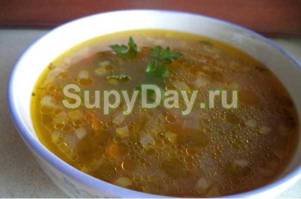 Суп из замороженных белых грибов - кушаем вкусно