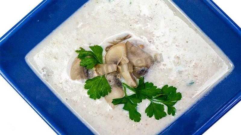 Суп-пюре из опят: со сливками, молоком, плавленым сыром, картофелем