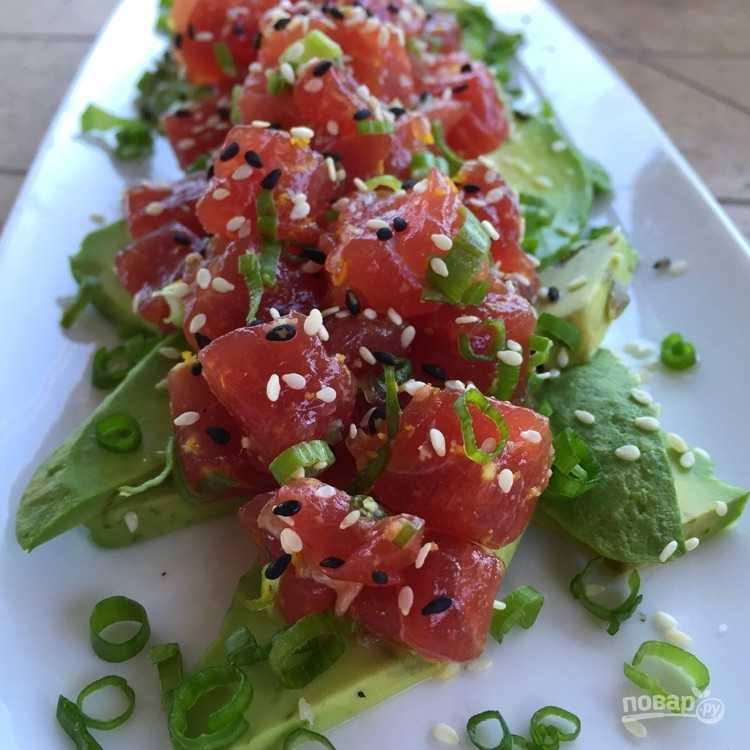 Тартар из лосося – 6 рецептов приготовления