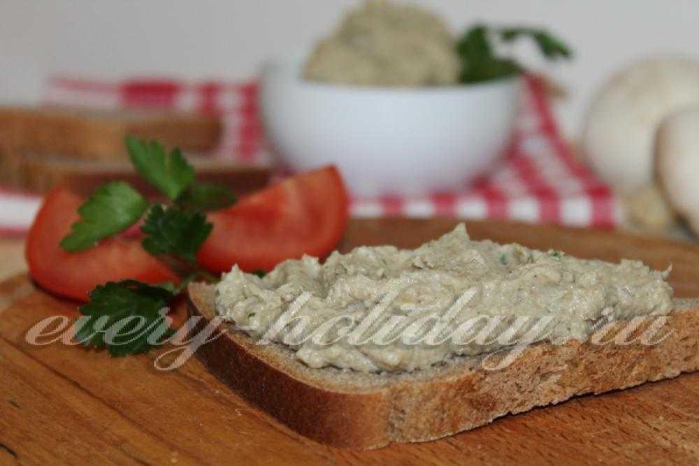Паштет из грибов вешенок: рецепты и фото, как приготовить грибной паштет из вешенок