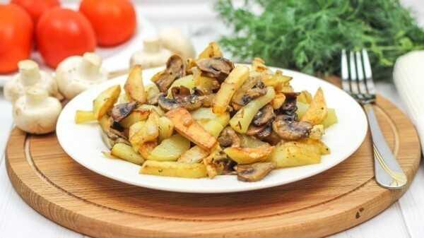 Волнушки, жареные с картошкой на сковороде: как жарить, вкусные рецепты