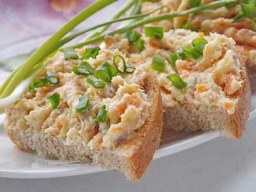 Намазка на хлеб из селедки рецепт с фото пошагово - 1000.menu