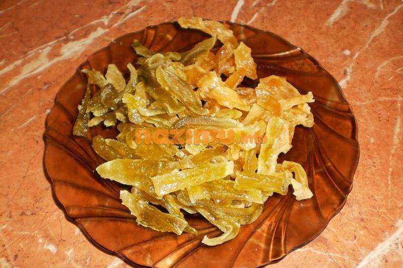 Цукаты из дыни: калорийность, рецепт   food and health