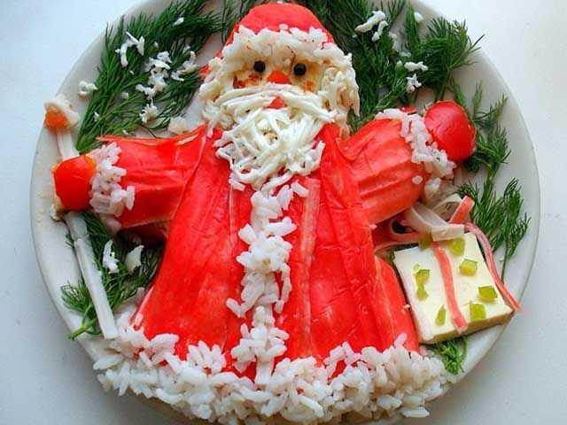 Салаты на новый год - рецепты оригинальных салатов с фото