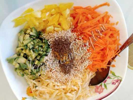 Салат солнышко: рецепты с фото пошагово