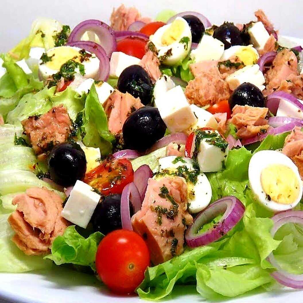 Салат с авокадо и тунцом - полезное и оригинальное лакомство: рецепт с фото и видео