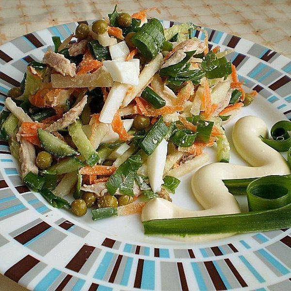 Салат из кольраби рецепт с фото пошагово и видео - 1000.menu