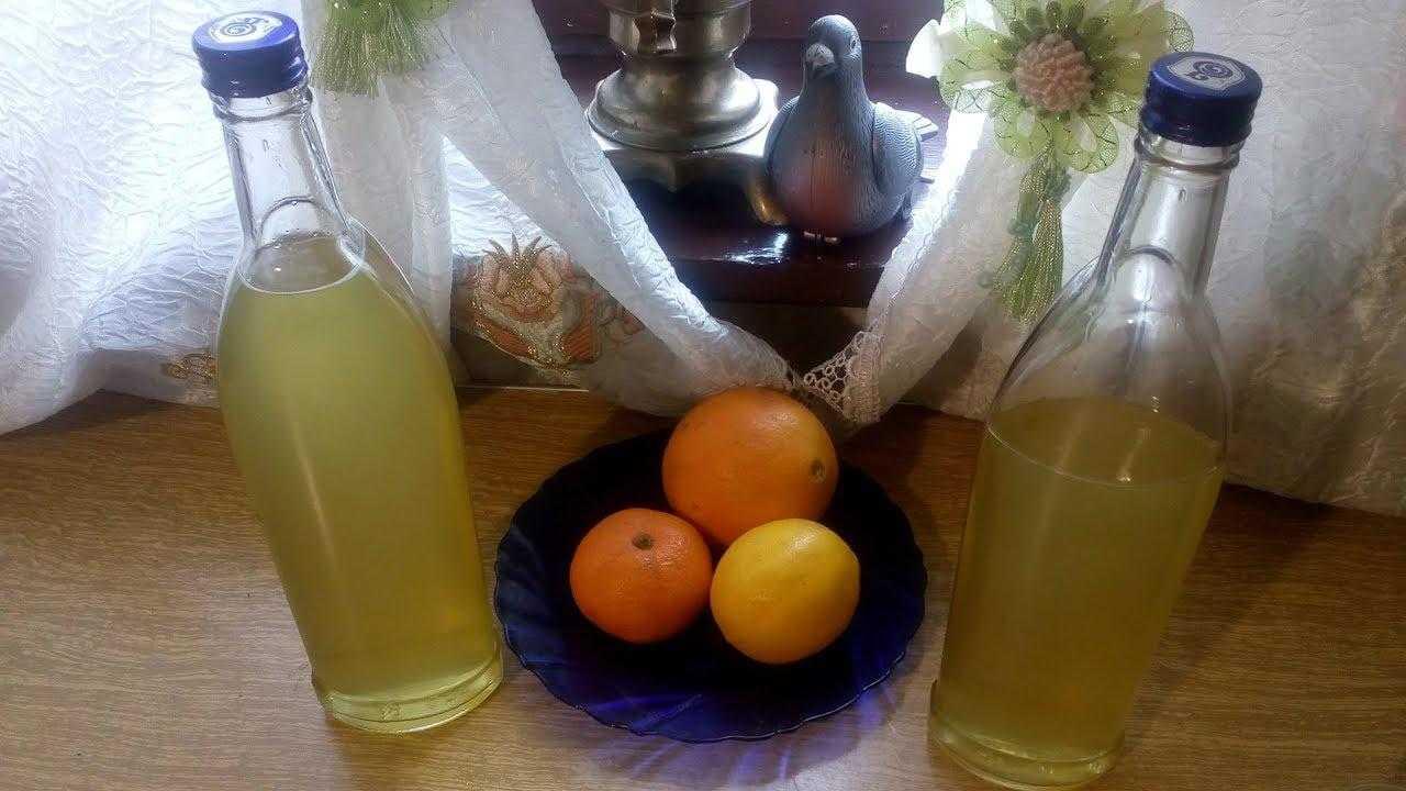 Рецепт приготовления мандариновой настойки