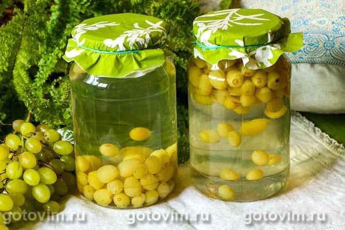 7 вкусных компотов из винограда