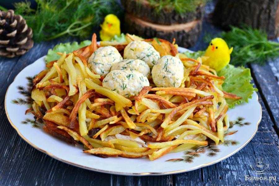 Салат гнездо глухаря - лучшие рецепты. как правильно и вкусно приготовить салат гнездо. - женский портал от а до я