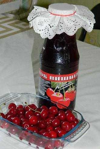 Вишневый и черешневый соки в домашних условиях