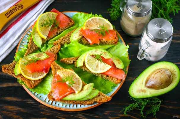 Бутерброды с авокадо и яйцом рецепт с фото - 1000.menu