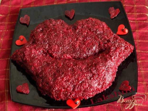 7 простых салатов на день влюблённых 14 февраля - рецепты с фото