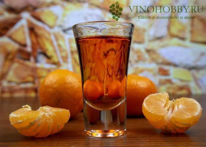 Как приготовить мандариновую настойку на водке