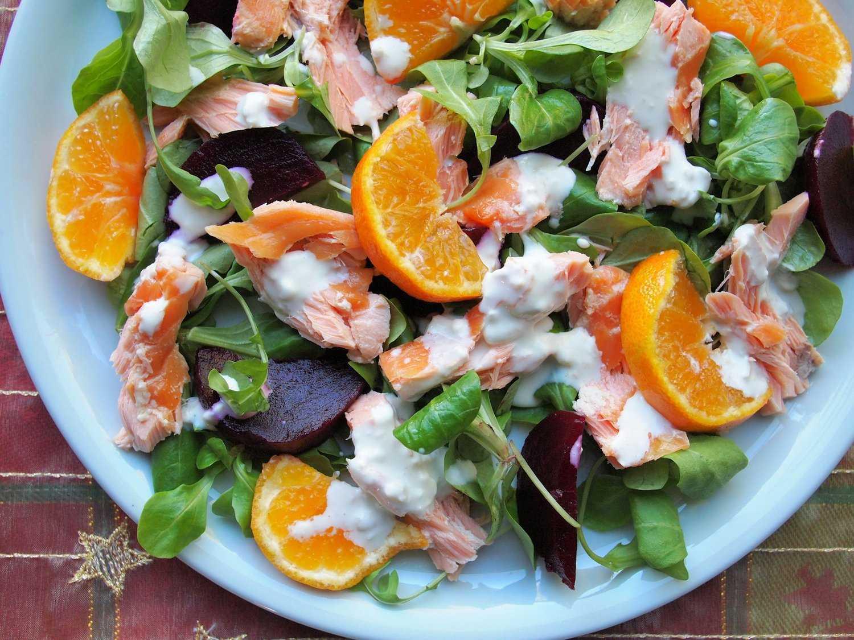 Салат с лососем: топ-11 рецептов, пошаговое приготовление