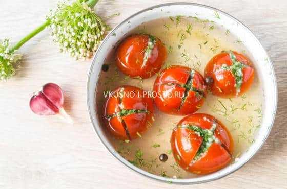Топ 14 рецептов приготовления помидоров армянчиков на зиму