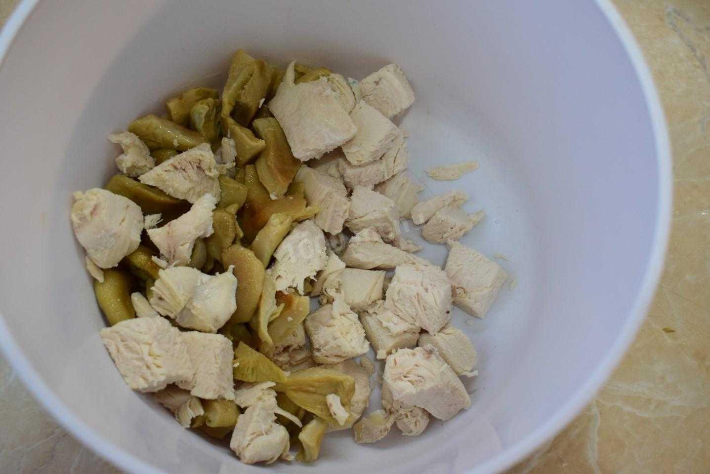 Салаты с солёными груздями, как приготовить? рецепты с фото и видео