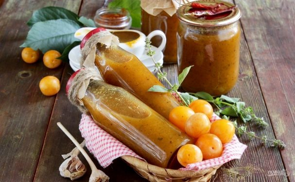 Ткемали - рецепты вкусного грузинского соуса
