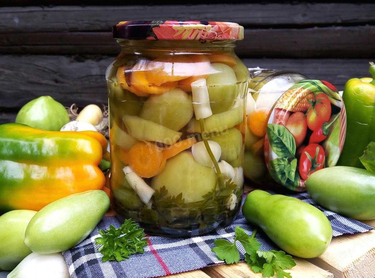 Зеленые помидоры: 16 рецептов заготовок на зиму » сусеки