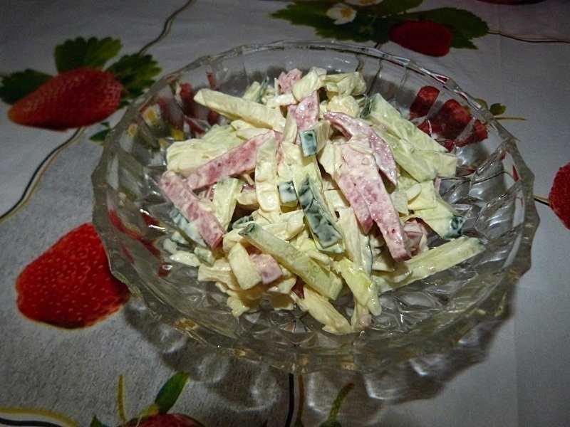 Классический «столичный» салат – рецепт аппетитной закуски для любого стола!