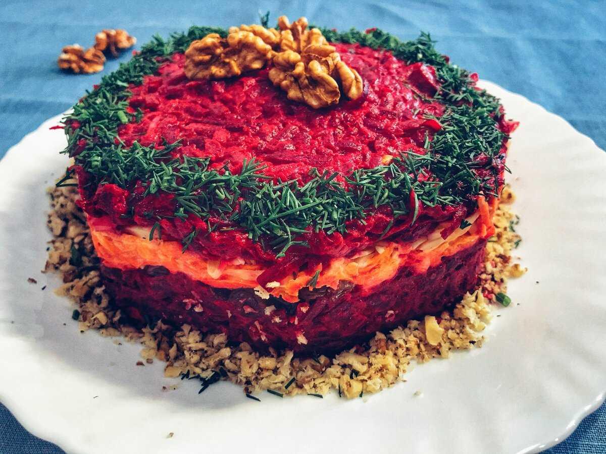 Салат любовница - пошаговый рецепт с фото, как приготовить