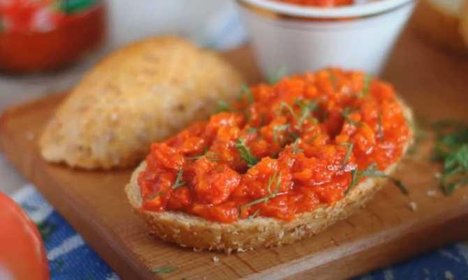 Аджика из помидор и чеснока - 5 классических рецептов на зиму