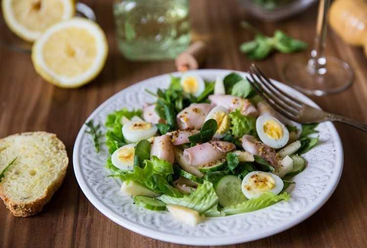 Салат с кальмарами: 303 рецепта на foodini.