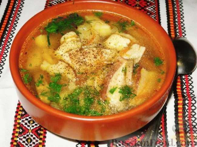 Макароны с сушеными грибами рецепт с фото пошагово - 1000.menu