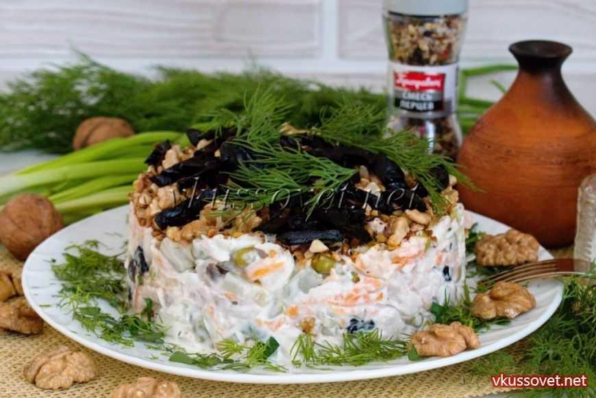 Пражский салат классический