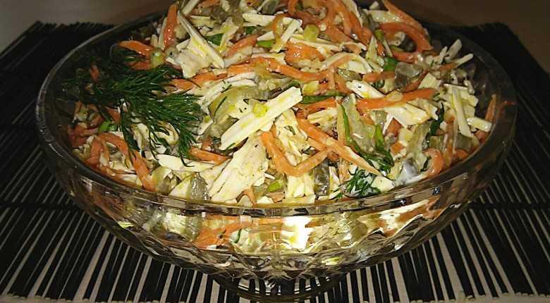 Салат лисичка под шубой рецепт с фото - 1000.menu