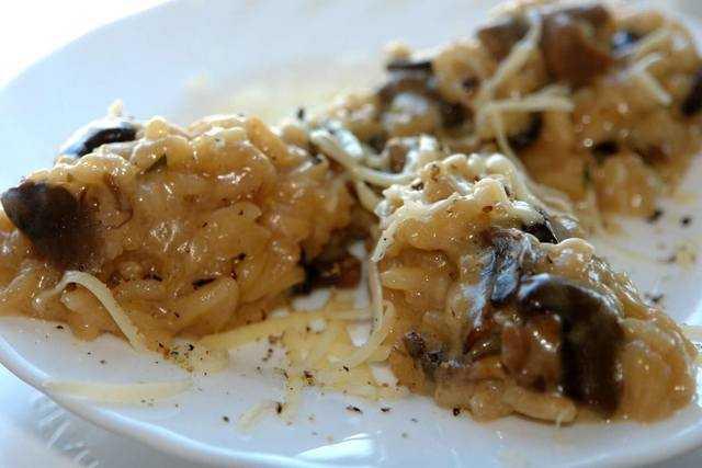 Ризотто с курицей и грибами - рецепты с белыми грибами, шампиньонами и лисичками, в мультиварке и сливочном соусе