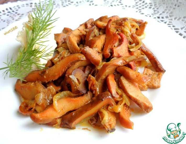 Рецепты с солеными грибами