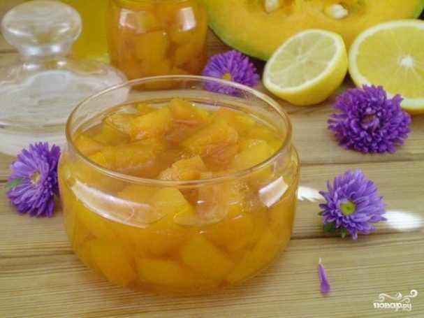 Рецепты компота из тыквы на зиму