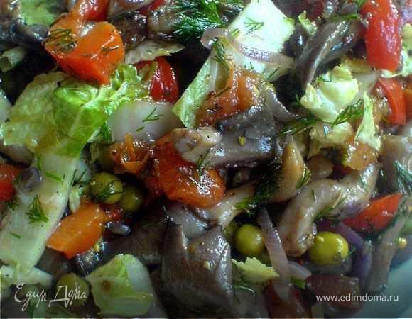 Самые вкусные салаты на зиму из баклажанов - 7 рецептов заготовок