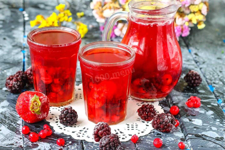 Компот из ягод: вкусный напиток на каждый день