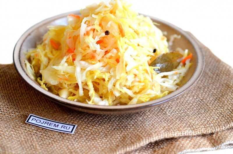 Рецепт квашеной капусты с медом
