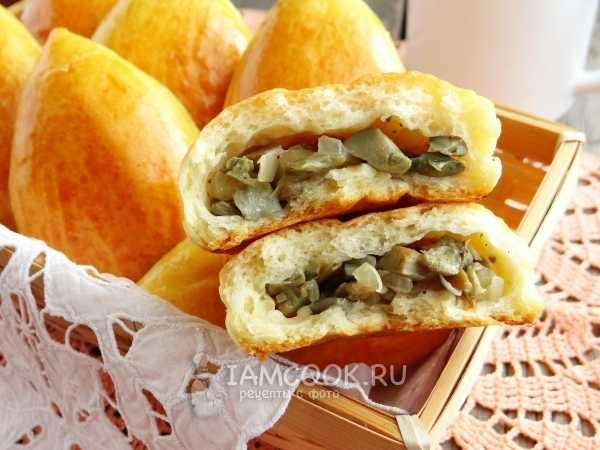 Вкусный заливной пирог с грибами и картошкой в духовке - пошаговый рецепт