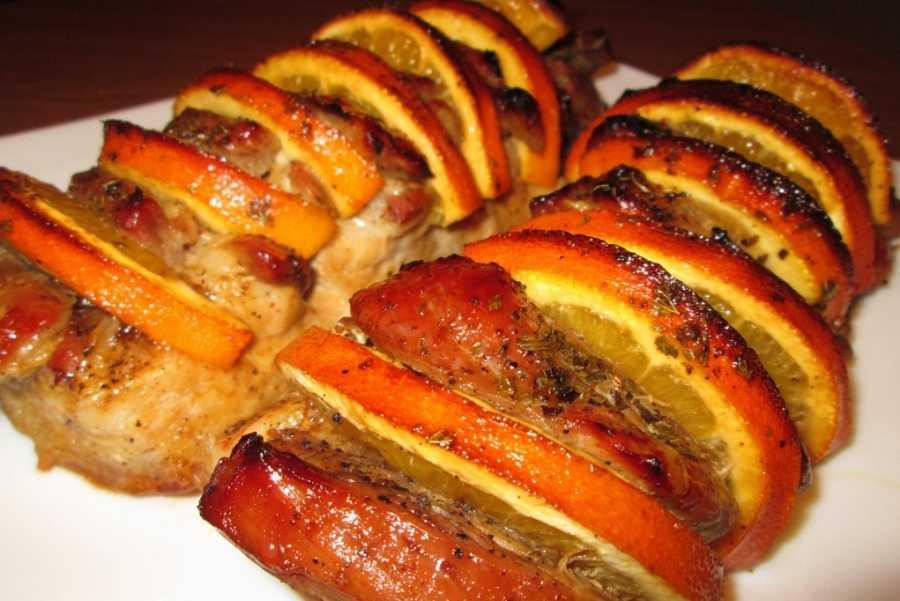 Свинина с апельсинами в духовке: 13 лучших пошаговых рецептов с фото и видео. Советы и секреты правильного приготовления блюда.